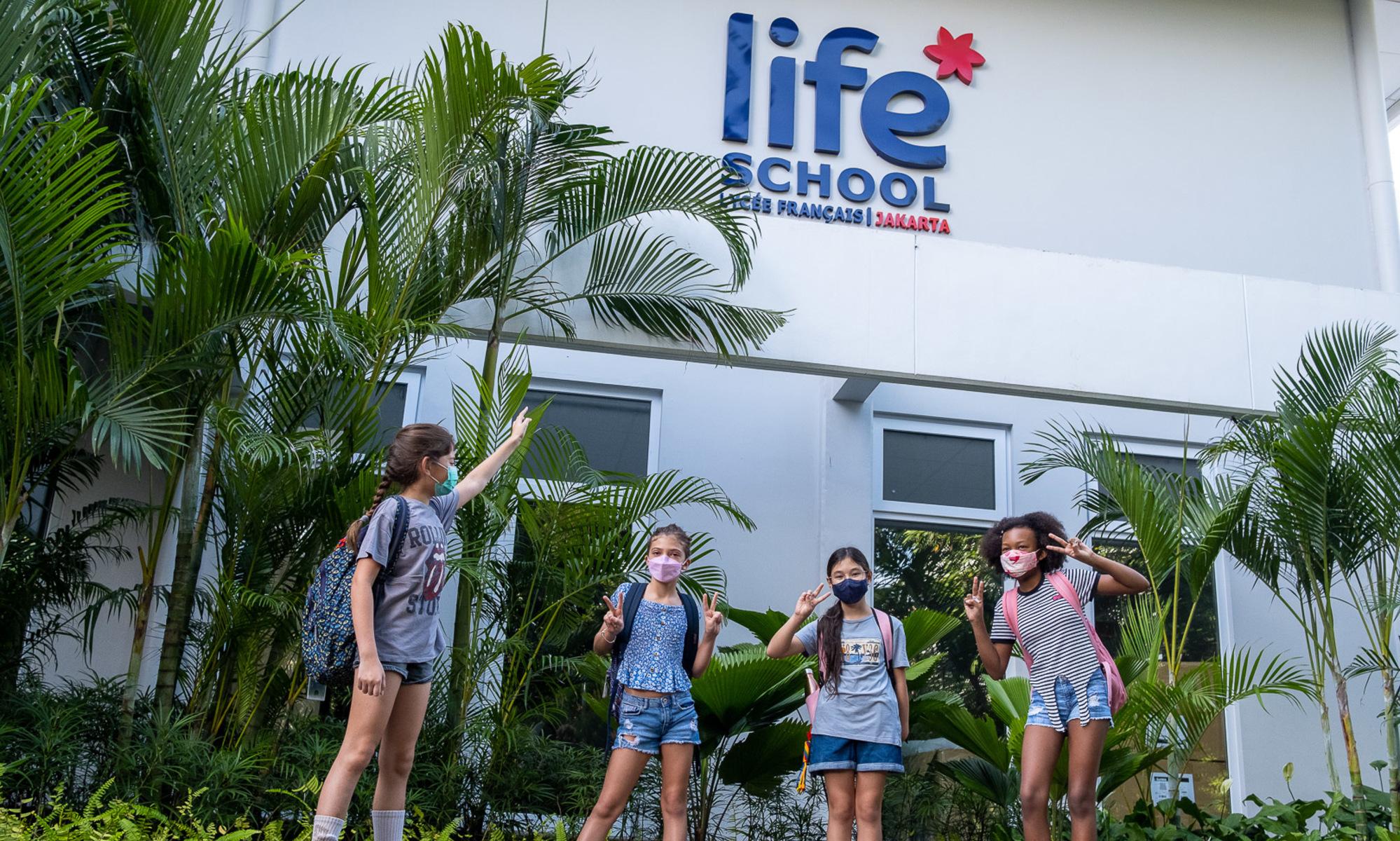 Rénovation du lycée français de Jakarta